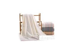 Azo Free 100 Percent Cotton Bath Towels For Adults / Children