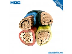 underground copper cable LV PVC sheathed 185mm2 3.5c xlpe cable ug cable
