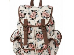 Cute Lovely Jeans Backpack Boo