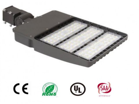150w LED Area light 19500lm  90-277VAC IP65 Aluminum housing  for outdoor applications